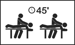 Duo massage 45 minuten